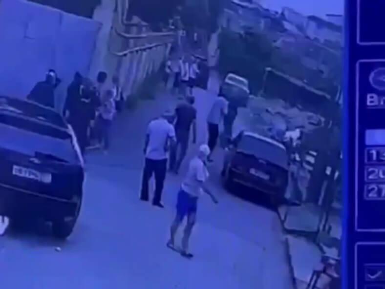 Момент расстрела судебных приставов в Сочи попал на видео