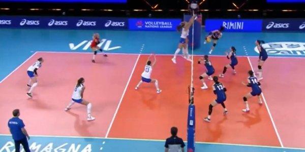 Как женская сборная России по волейболу отыграла этапы Лиги наций