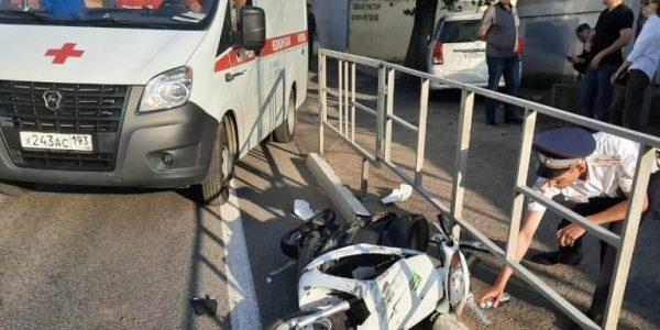 В Туапсинском районе насмерть разбился 30-летний водитель мопеда