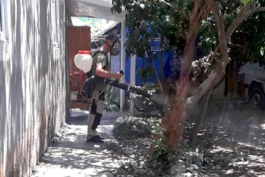 В Сочи продезинфицировали дома, пострадавшие от стихии 5 июля
