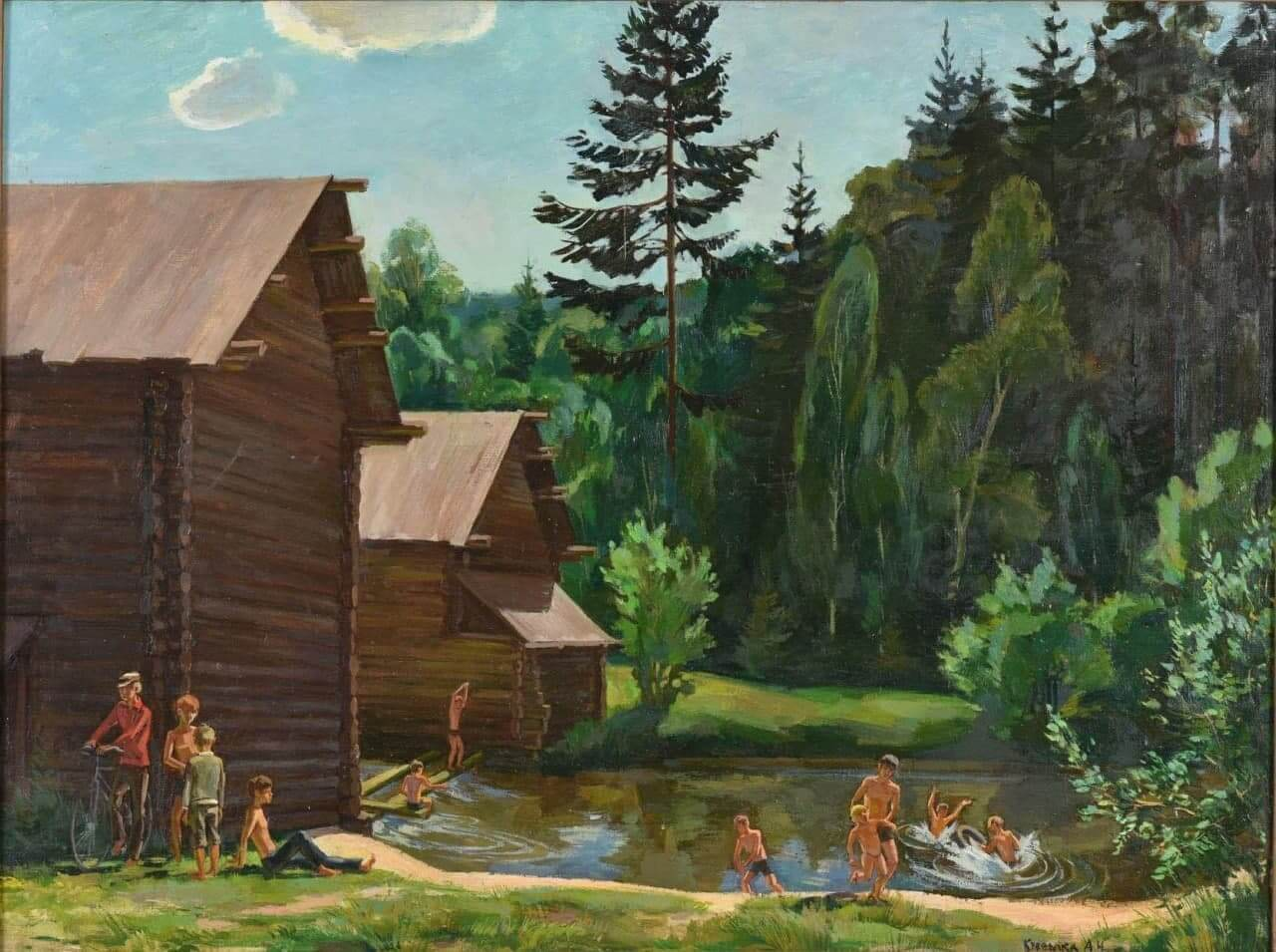 В Краснодаре откроется выставка живописи и графики, посвященная летним каникулам