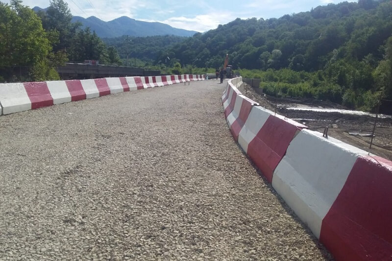 В Туапсинском районе после непогоды восстановили два автомобильных моста