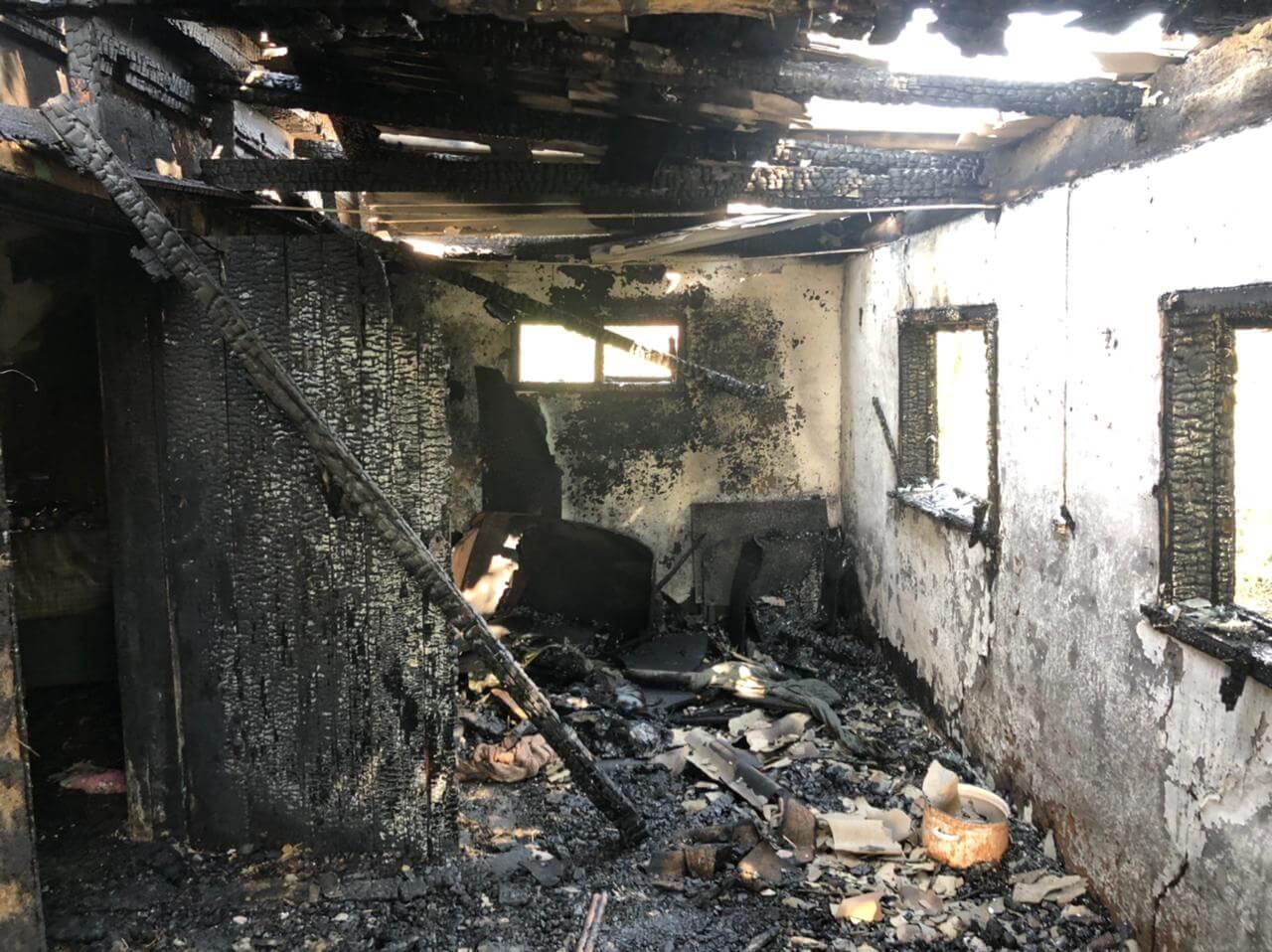 В Павловском районе при пожаре в частном доме погиб мужчина