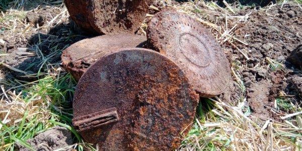 На Кубани нашли останки девяти советских воинов и двух мирных граждан