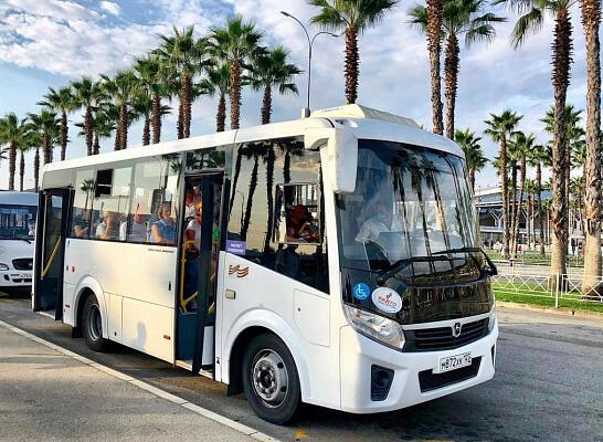 В Сочи с 15 июля изменится схема движения автобуса в Олимпийском парке