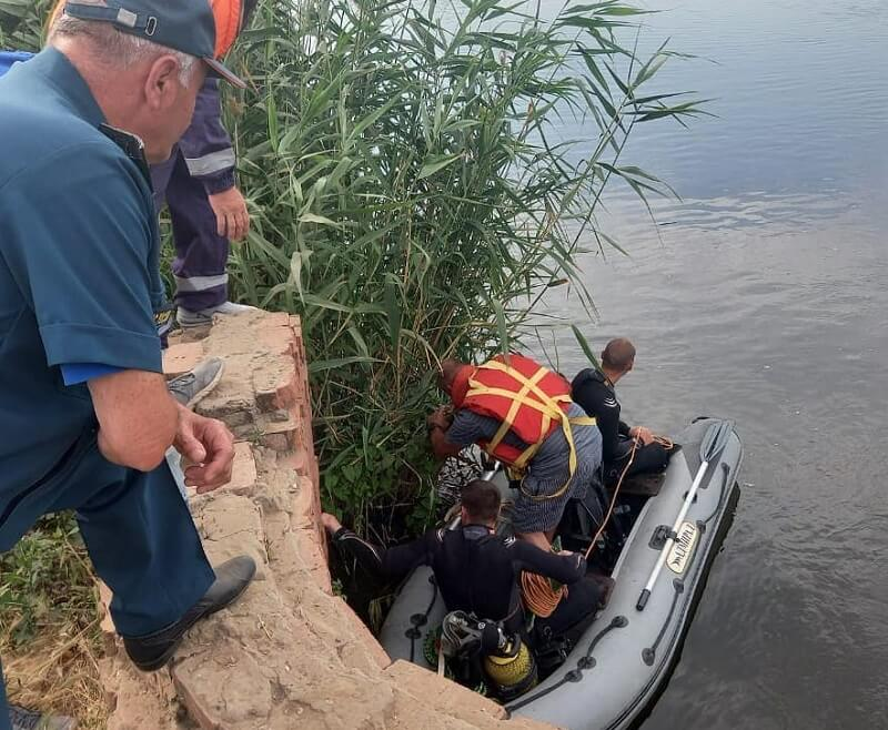 В Ленинградском районе в реке утонул ребенок