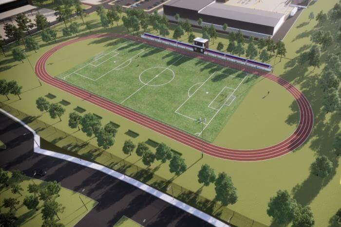 В анапском поселке реконструируют футбольный стадион