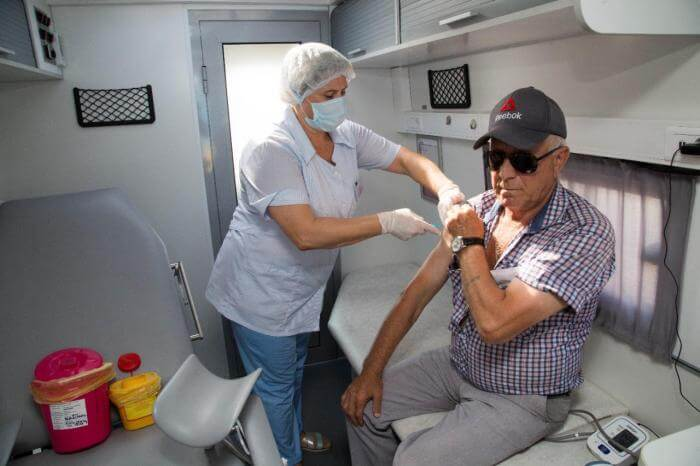 В Анапе более 60% работников санаторно-курортной сферы прошли вакцинацию