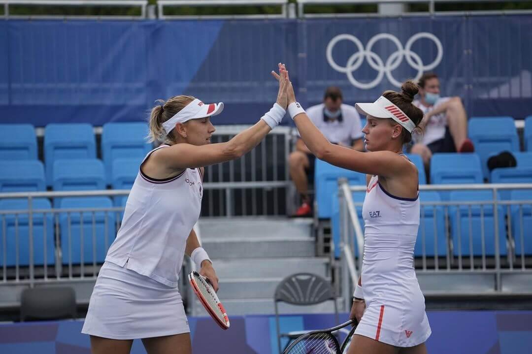 Веснина и Кудерметова упустили бронзу Олимпиады в парном турнире по теннису