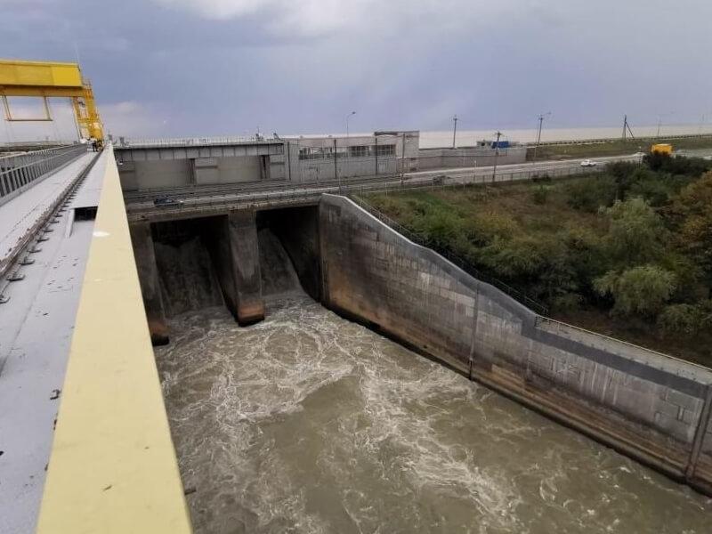 Краснодарское водохранилище после дождей заполнилось до 64%