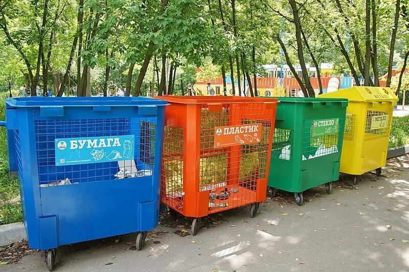 В Краснодаре сделали интерактивную карту пунктов раздельного сбора мусора