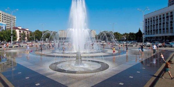 В Краснодаре на главном фонтане в выходные будут звучать композиции Шостаковича