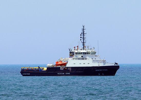 Буксир из Новороссийска направился в Оманский залив