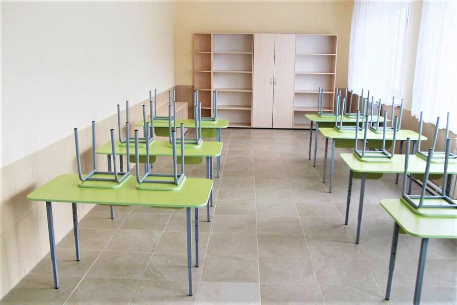 В Северском районе завершили капитальный ремонт детской художественной школы
