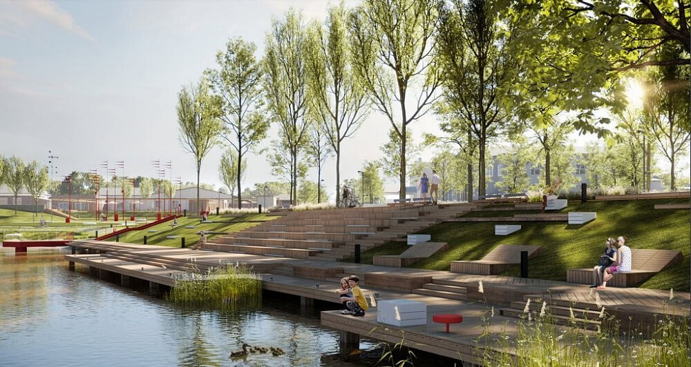 В Курганинске до конца года по нацпроекту обновят городской пляж