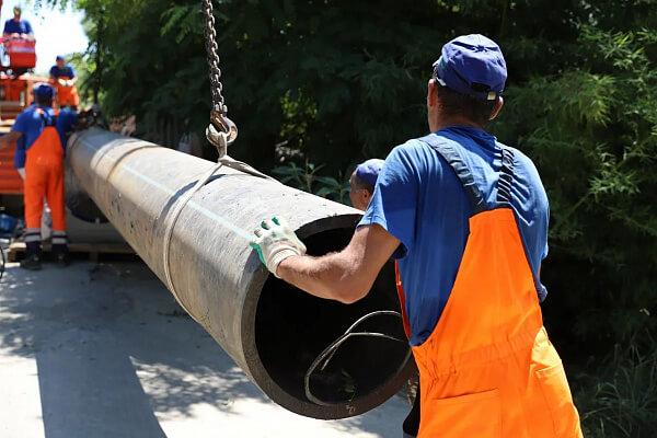 В Сочи начали прокладывать новые ветки магистрального коллектора