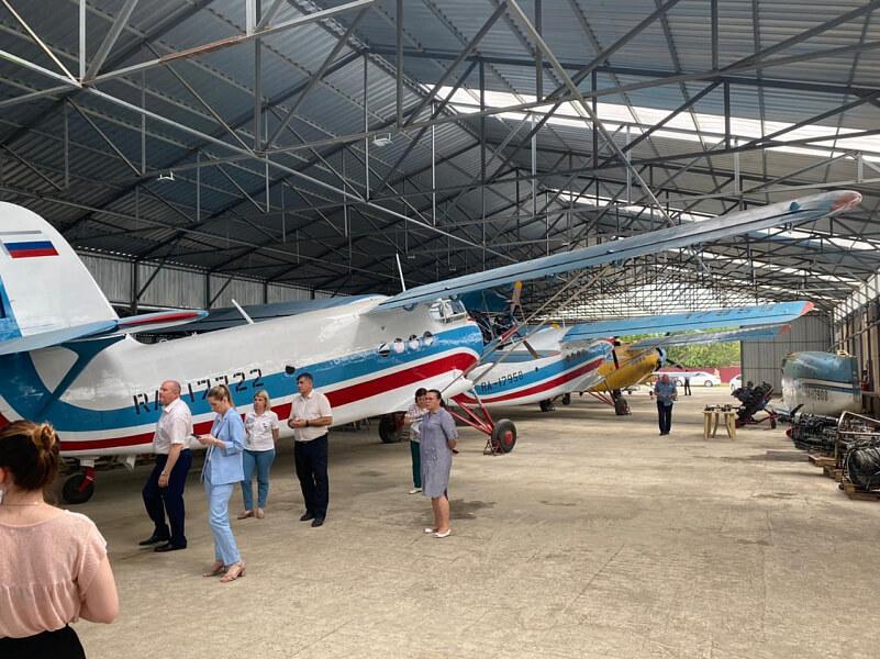 Кубань представила на МАКС уникальный самолет с двумя моторами в носовой части