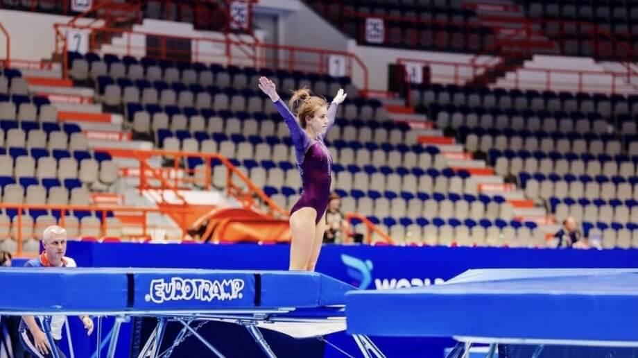 Кубанская батутистка Сусана Кочесок вышла в финал Олимпиады