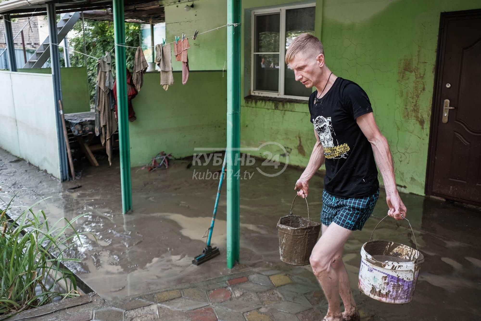Жители подтопленных сел Туапсинского района не будут платить за грязную воду