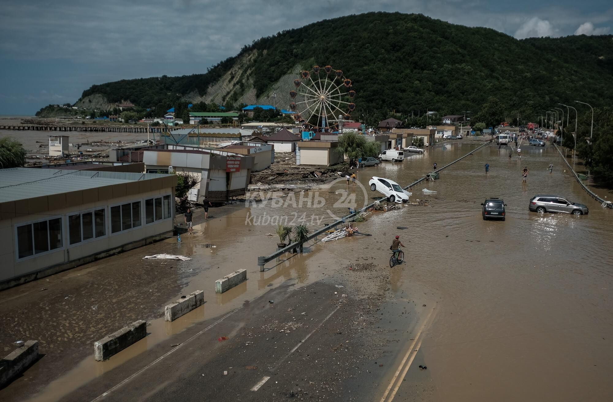 Джубга и Лермонтово после потопа. Фоторепортаж