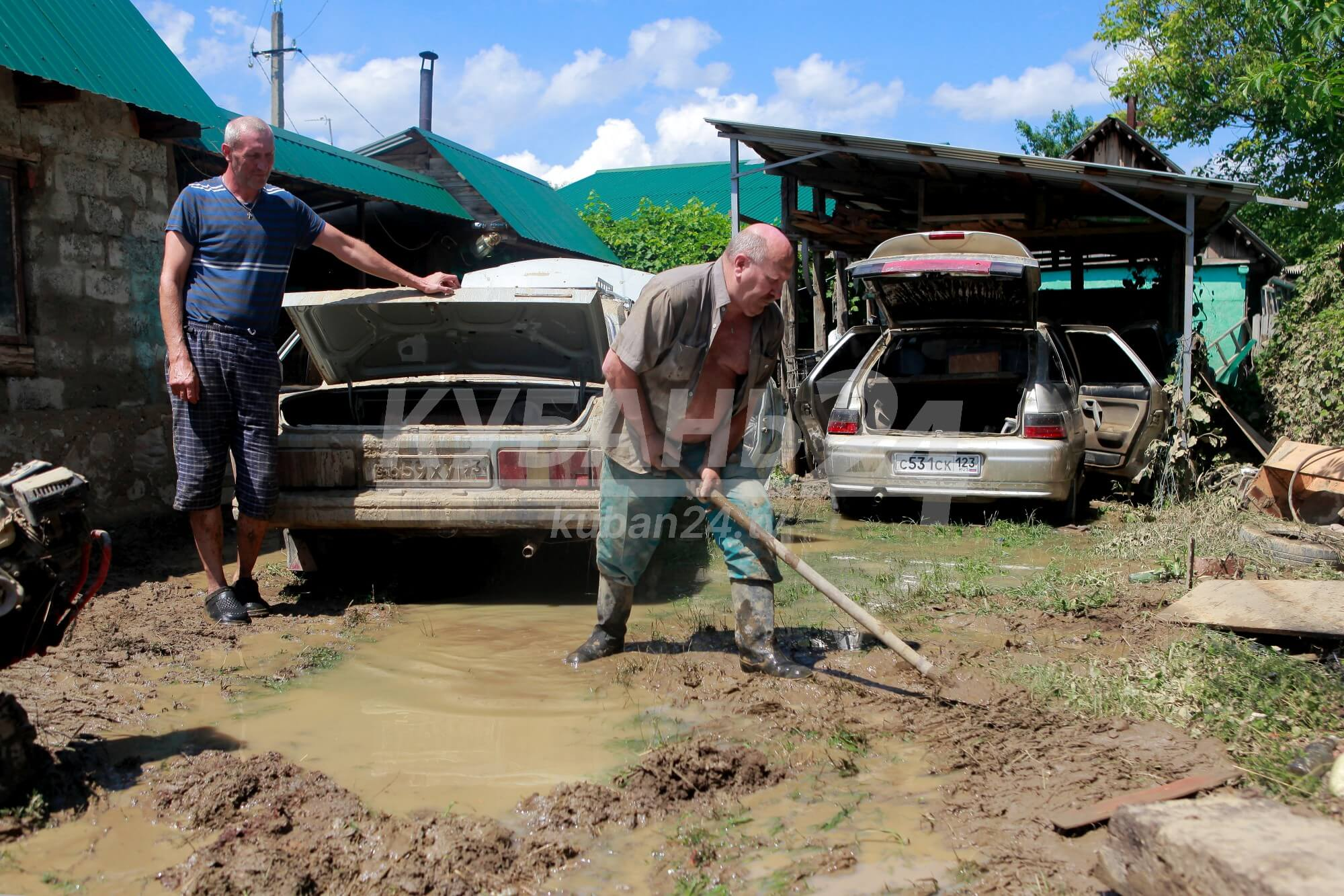 Прокуратура даст оценку властям районов Кубани, где произошли подтопления