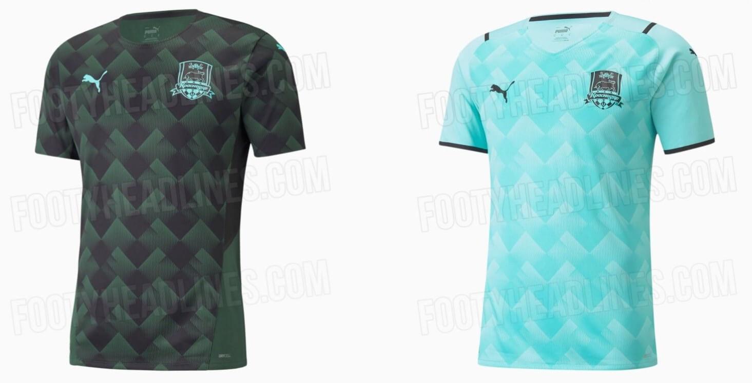 Опубликованы фото новой формы ФК «Краснодар» на сезон 2021/22