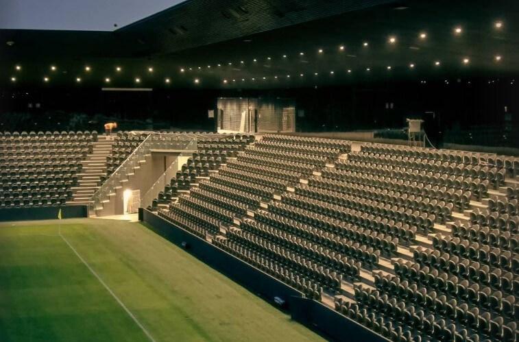 Опубликованы новые фотографии строящегося стадиона ФК «Краснодар-2»