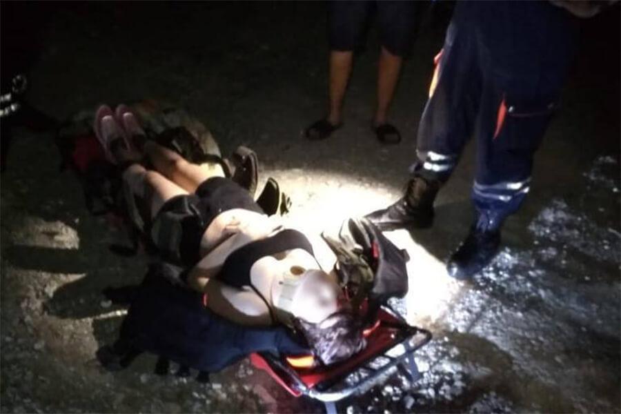 В Геленджике 21-летняя девушка во время вечерней прогулки сорвалась с обрыва