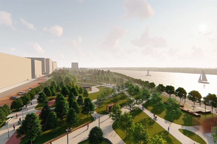 В Краснодаре объявят тендер на создание единой набережной