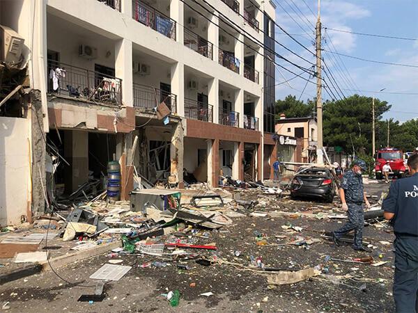 В Геленджике комиссия оценит ущерб от хлопка газа в гостинице