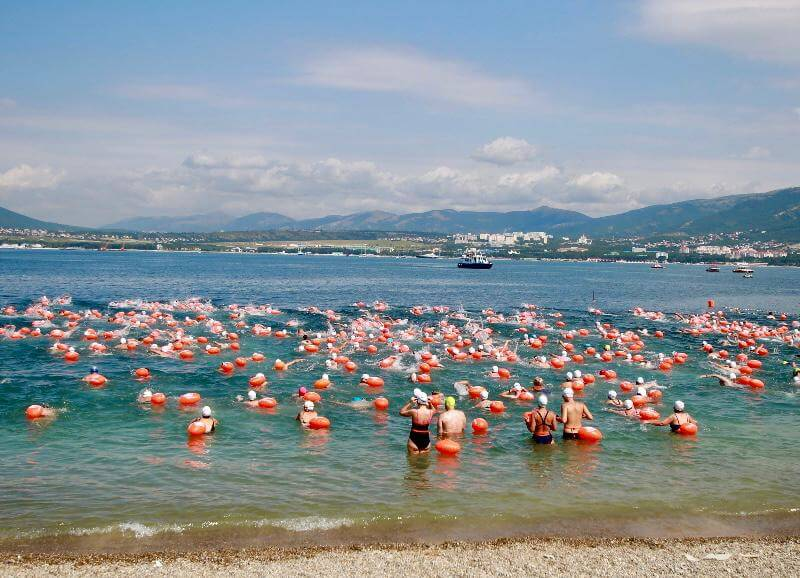 В Геленджике из-за антиковидных ограничений отменили заплыв «Морская миля»