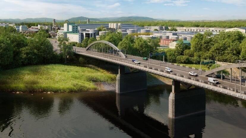 Третья очередь нового Яблоновского моста обойдется в 1,7 млрд рублей