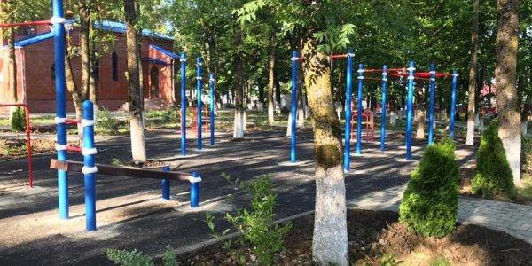 В Северском районе по нацпроекту благоустроили парк