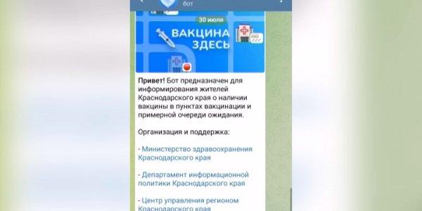Первый в России чат-бот «Вакцина здесь!» предназначен для людей любого возраста
