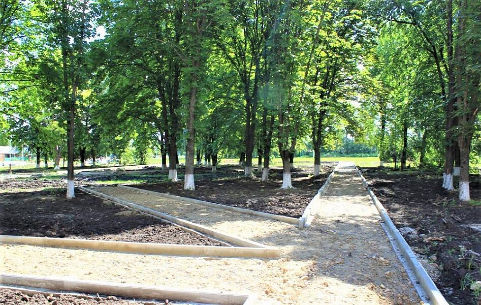 В Ленинградском районе до конца года благоустроят 40 тыс. кв. м зон отдыха