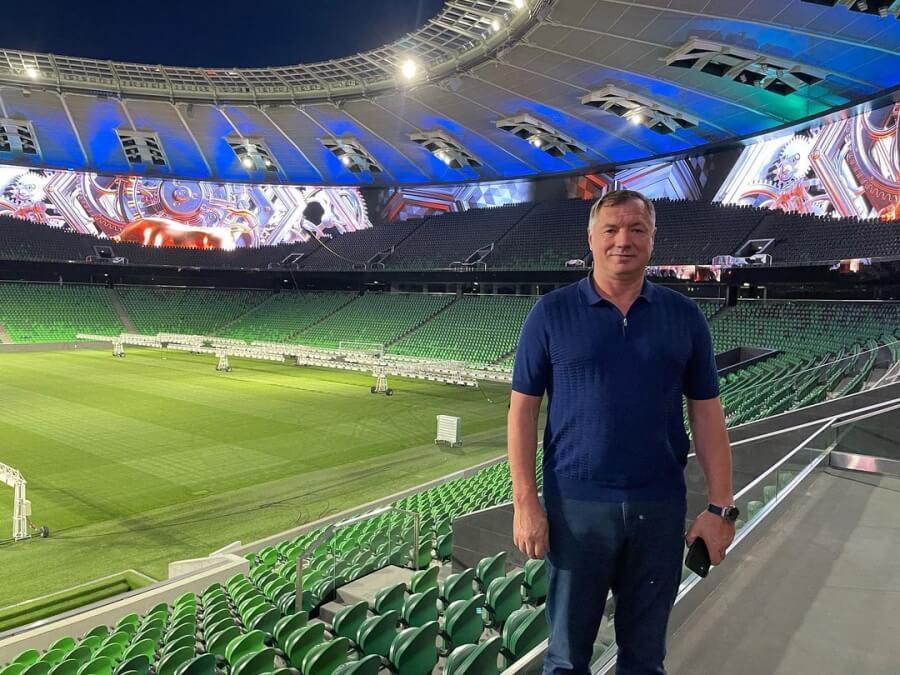 Марат Хуснуллин: парк и стадион «Краснодар» — объекты мирового уровня