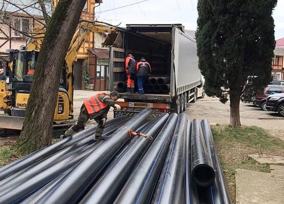 В Сочи на реконструкцию сетей водоснабжения направили более 12,5 млн рублей