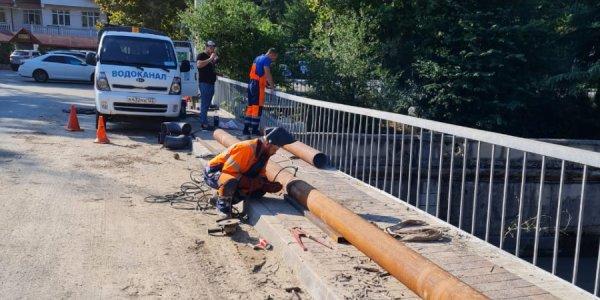 В Сочи смерч повредил трубопровод и вывел из строя насосную станцию