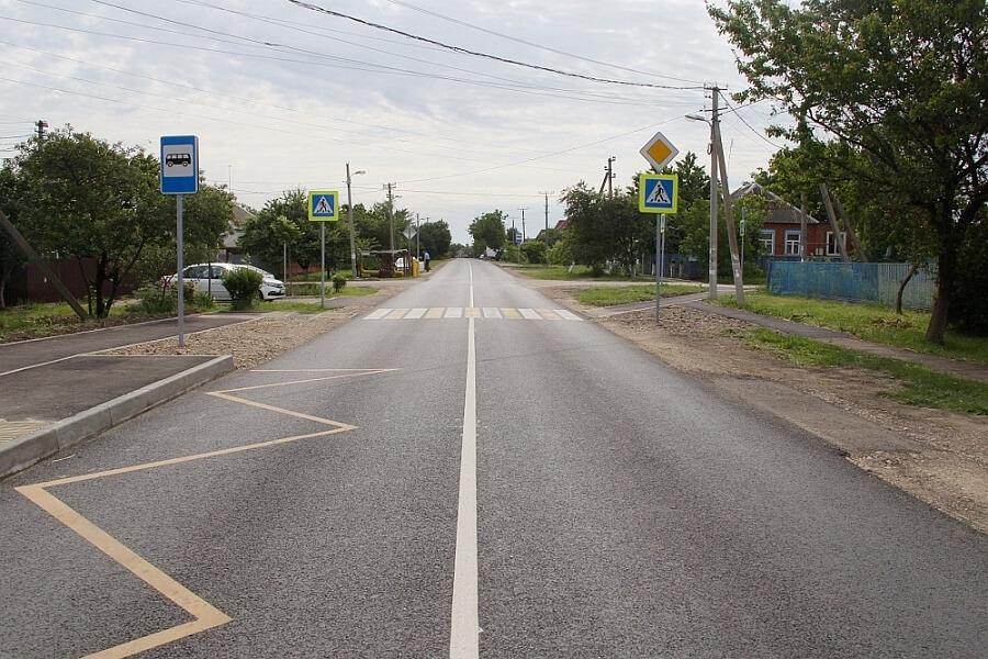 В шести поселениях Динского района по нацпроекту отремонтируют улицы
