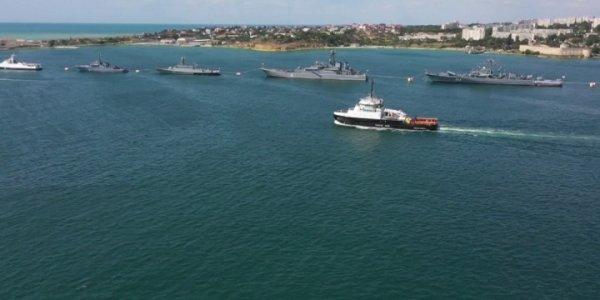 В России отпраздновали День Военно-морского флота