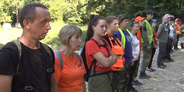 Вблизи Горячего Ключа поисковый отряд «Лиза Алерт» провел учения для новобранцев