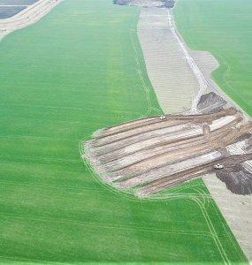 На Кубани на месте строительства дороги археологи нашли меотский курган