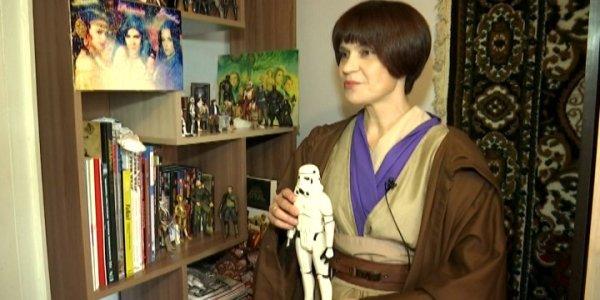Библиотекарь из Усть-Лабинска собрала более 70 фигурок персонажей Star Wars