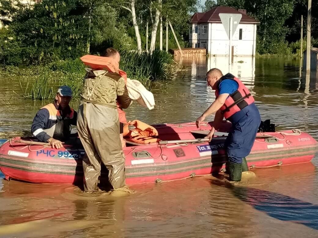 В трех районах Краснодарского края остаются подтопленными 258 домов