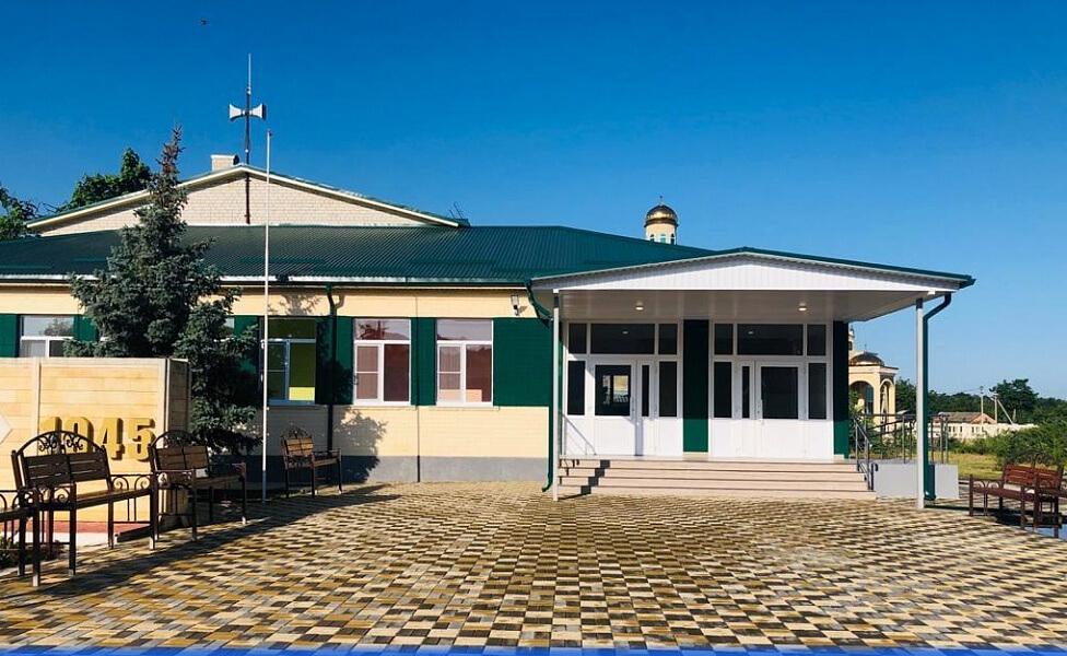 В Успенском районе по нацпроекту отремонтировали Дом культуры