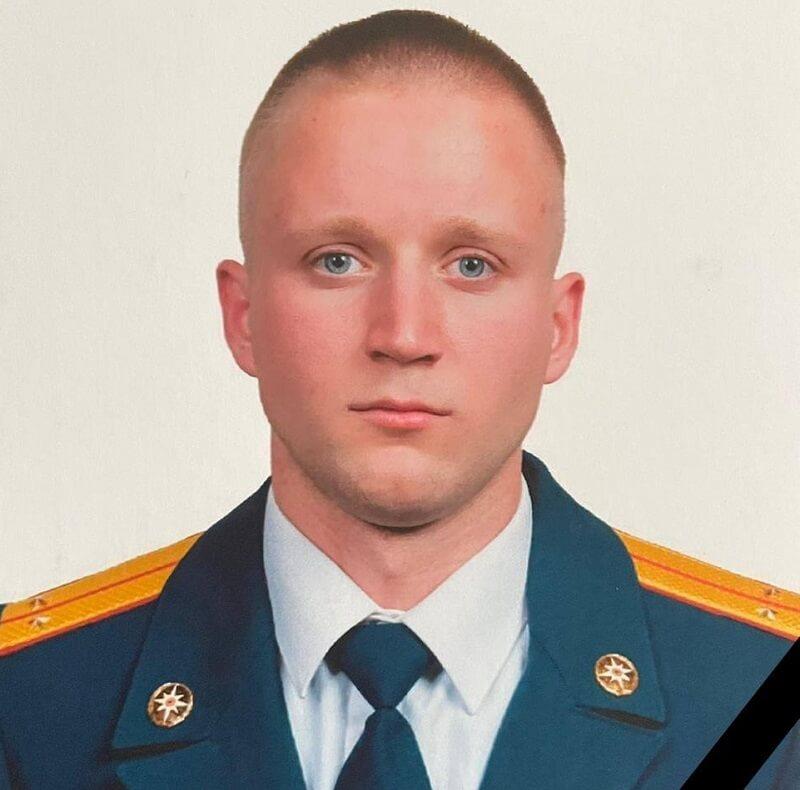 МЧС: погибший пожарный в Горячем Ключе проработал спасателем 8 лет