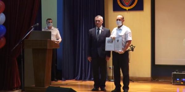 Госавтоинспекторов Кубани поздравили с наступающим Днем образования службы ГИБДД