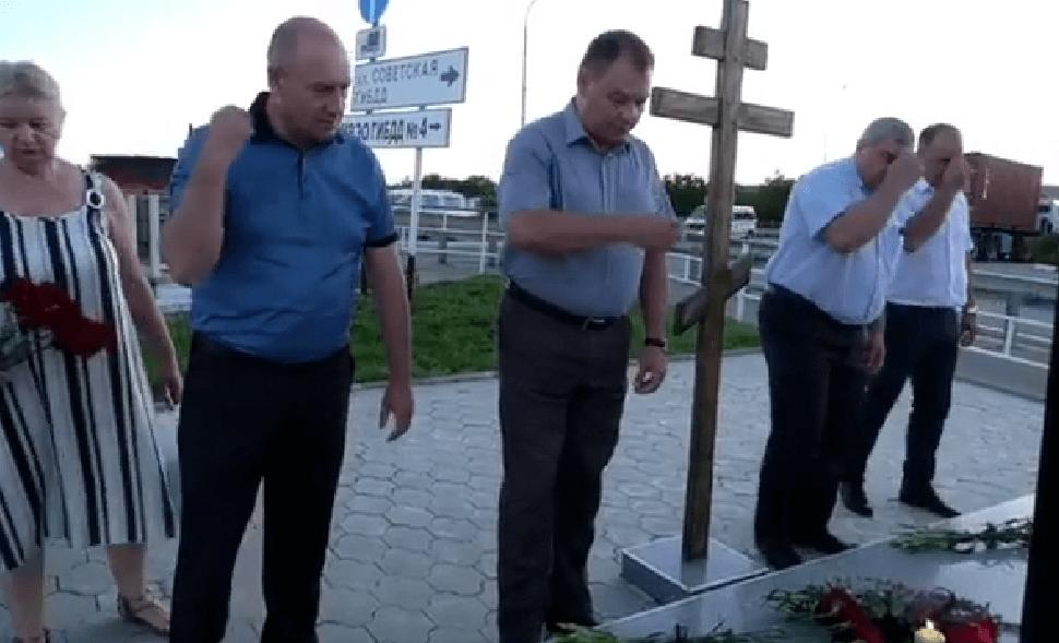В Крымском районе почтили память жертв наводнения 2012 года