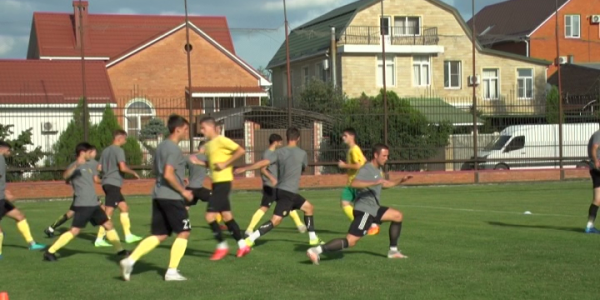 ПФК «Кубань» готовится к матчу против «Торпедо»