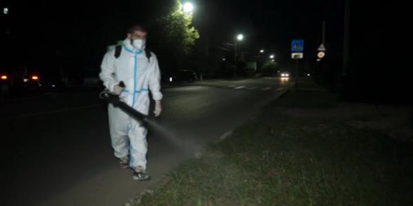 В Кропоткине от комаров обработали места отдыха и массового скопления людей